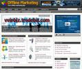 Thumbnail Offline Marketing Niche Website PLR