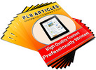 Criminology - 25 PLR Article Packs!