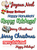 Thumbnail 2010 Holiday Clipart Collection Comes With MRR