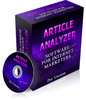 Thumbnail Article Analyzer Software Pro Version - RR