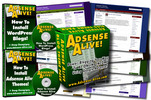 Thumbnail Adsense Alive Theme Pack Bundle Master Resell Rights + Bonus Video