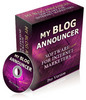 My Blog Announcer Pro Version Resell Rights