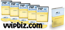 Thumbnail PHP for Beginners Video Tutorials -  Master Resale Rights