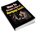 Thumbnail How To Create a Ton of Mortgage Leads PLR Ebook