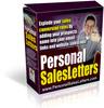 Thumbnail Personal Sales Letters Script (PLR)