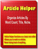 Thumbnail Article Helper - Resell Rights