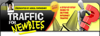 Traffic for Newbies: A Step-By-Step Guide To Getting Internet Traffic (PLR)