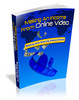 Thumbnail Making An Income From Online Video - Master Resale Rights