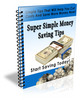 Thumbnail Super Simple Money Saving Tips PLR Included