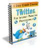 Thumbnail Twitter For IM Professionals - Crash Course with PLR