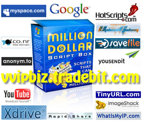 Product picture Million Dollar Script Box : Instant Business Empire Comes with Full Master Resale Rights