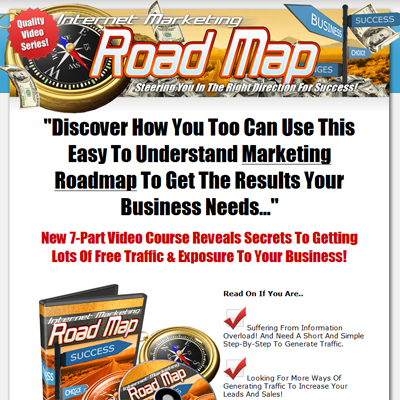 Product picture *New!* Internet Marketing Roadmap (MRR) - High Quality Video Series