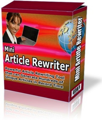 Product picture Mini Article Rewriter Article Spinner, Rewriter & Content Shuffler with MRR