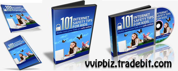 Product picture 101 Internet Safety For Kids (Video + Audio + PDF eBook)