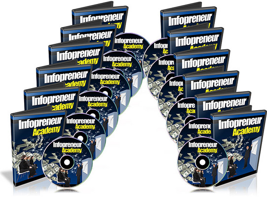 Product picture Infopreneur Academy Video Course Resale Rights