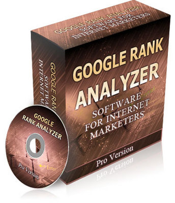 Product picture Google Rank Analyzer Pro Version Comes With Resell Rights