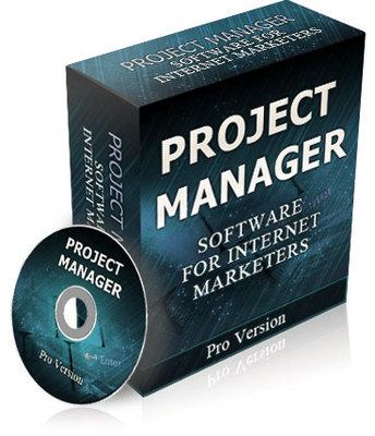 Product picture Project Manager Software Online Pro Version Comes With Resell Rights