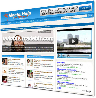 Product picture Mental Health and Anxiety Niche Wordpress Blogs + Review Sites (3 Income Streams)