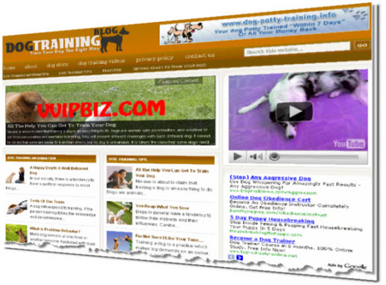 Product picture Dog Training Niche Wordpress Blogs (Adsense/Amazon/Clickbank) + Review Sites
