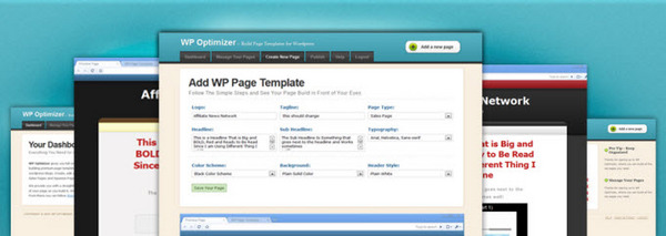 Product picture WP Optimizer Software: Build Page Templates for Your Wordpress Blog