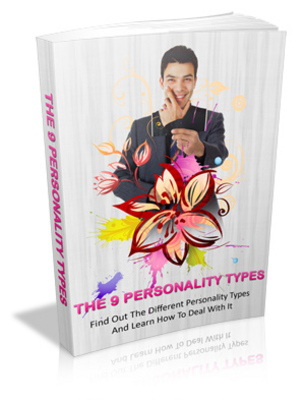 Product picture The 9 Personality Types MRR ebook + Giveaway Report