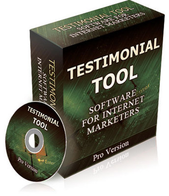 Product picture Testimonial Tool Pro Version Resell Rights