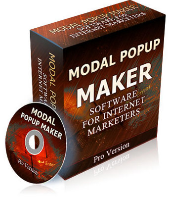 Product picture Modal Popup Maker Pro Version with Resell Rights