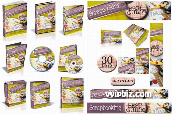 Product picture Scrapbook Plr Mini Site Templates Complete Psd Source Files