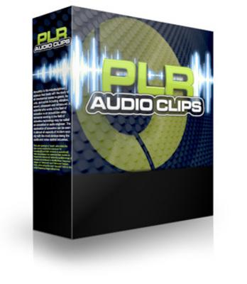 Product picture PLR Audio Clips V2 & V1 - 29 PLR Audio Tracks