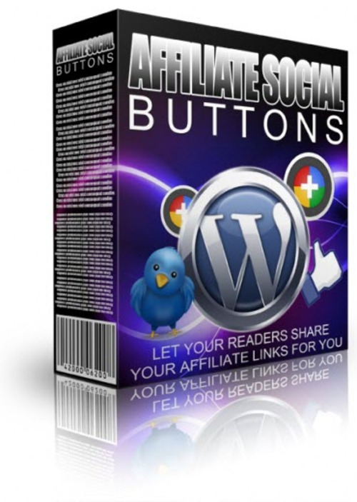 Product picture Affiliate Social Buttons Plugin - MRR WordPress Plugin