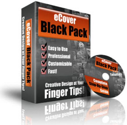 Product picture eCover Black Pack - PLR (Action Scripts)