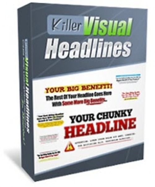 Product picture 25 Killer Visual Headline Templates (PSD)