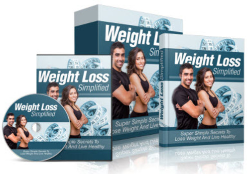 Product picture Weight Loss Simplified - eBook and Audio (MRR)