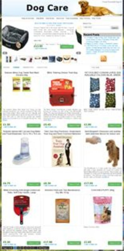 Product picture Amazon Dog Store - PLR