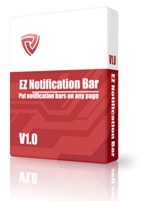 Product picture EZ-Notification Bar Maker (MRR)