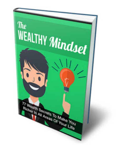 Product picture The Wealthy Mindset MRR/ Giveaway Rights