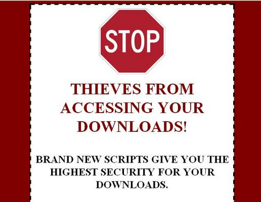 Product picture Download Protection Script - PLR