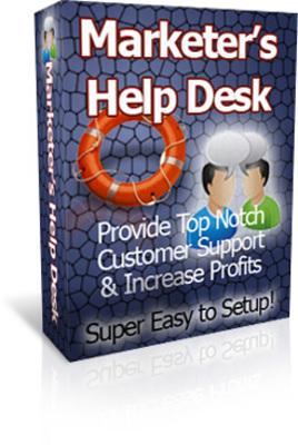 Product picture HelpDesk Script : Marketers Help desk (PLR)
