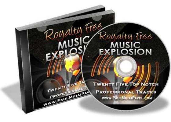 Product picture Royalty Free Music Explosion MRR!