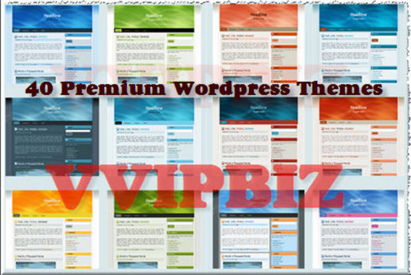 Product picture *Hot* 10 + 40 PLR Premium Wordpress Themes For $3.99!