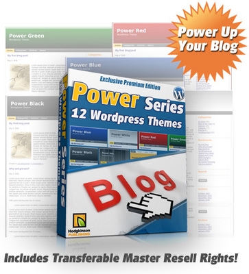 Product picture Power Series 12 Wordpress Themes - MRR Included