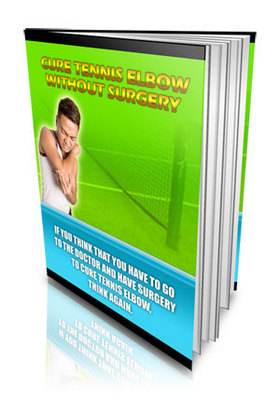 Product picture Cure Tennis Elbow Without Surgery - Master Resale Rights