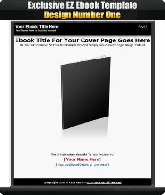 Product picture EZ Ebook Template Package v9 Master Resale Rights Included