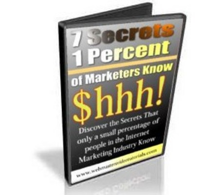 Product picture 7 Secrets Only 1 Of Marketers Know Resale Rights Included!