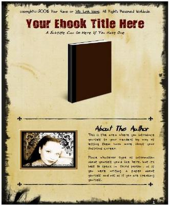 Product picture EZ Ebook Template Package v2 Master Resale Rights Included