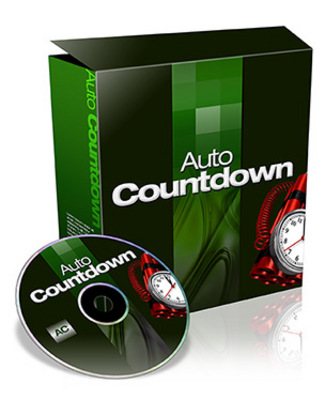 Product picture Auto Countdown Script Private Label Rights Included