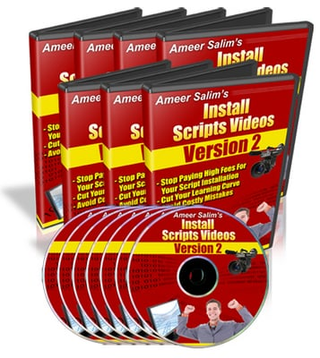Product picture Install Scripts Videos V2: CGI & PHP Scripts Installed
