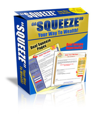 Product picture Dual Squeeze Pages Profit Pack Unrestricted PLR