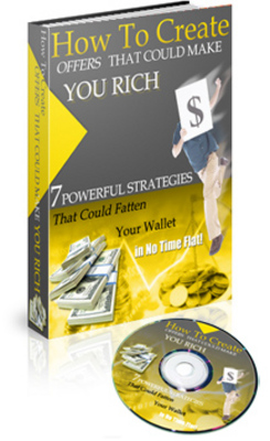 Product picture How To Create Offers That Could Make You Rich (MRR)