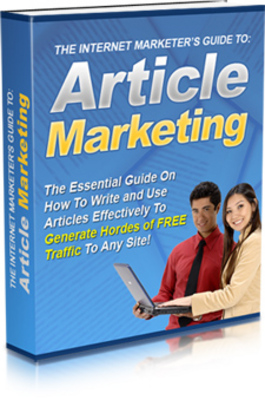 Product picture The Internet Marketers Guide Article Marketing MRR Ebook